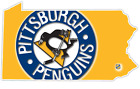 PA Pennsylvanian State Pittsburgh Penguins NHL Retro Vintage Vinyl Sticker Decal $22.99 USD on eBay