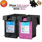 Combo Black Color pk Ink Cartridge 65XL 63XL 62XL 64XL 61XL 60XL for HP Printer