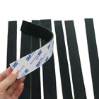 Black Silicone Rubber Strip Self Adhesive Seal Gasket 300x10/20/30x0.5/1/2/3mm