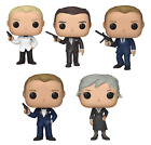 FUNKO POP! MOVIES: 007 - JAMES BOND M DANIEL CRAIG PIERCE BROSNAN SINGLE VINYL $12.99 USD on eBay