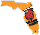 Miami Heat Florida NBA Basketball Vinyl Sticker Decal Bumper Cornhole Truck Car on eBay