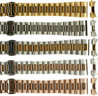 Stainless Steel Oyster Solid Links High Quality Watch Bands Straight&Curved end