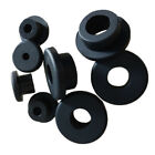 Black Silicone Rubber Grommet Plug Bungs Cable Wiring Protect Bushes 5mm 196mm