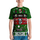 Best Harley Davidson VTwin Old School Ugly Christmas Sweater T-shirt $36.5 USD on eBay