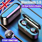 Bluetooth 5.0 Headset TWS Wireless Earphones Mini Earbuds Stereo Headphones New