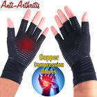 1 Pair Copper Fit Arthritis Compression Gloves Hand Support Joint Pain Relief LK $9.99 USD on eBay