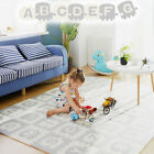 Kyпить Extra Large Kids Puzzle Play Mat Baby Foam Playmat Interlocking Non-Toxic 70X70