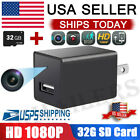 Mini Charger Spy Camera 1080P Full HD Camcorder Hidden DVR Loop Record 32GB Card $24.09 USD on eBay