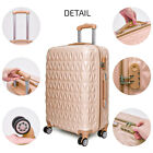"""Light Weight Large 28"""" Hard Shell Suitcase 4 Spinner Wheels ABS Luggage Trolley"""