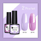 UR SUGAR 2 Flaschen 7.5ml Nagel Gellack Nail UV Gel Polish Soak Off Nail Art Kit