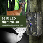HD 1080P 12MP Hunting Trail Camera Video Wildlife Scouting IR Night Vision Cam