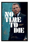 James Bond No Time To Die 007 Teaser Poster FRAMED CORK PIN BOARD With Pins £54.95 GBP on eBay