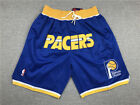 New Indiana Pacers Blue Retro Shorts Men's Pants Stitched Size S-XXL NWT on eBay
