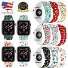 Christmas Replacement silicon Wrist Sport Band Strap For Apple Watch Series 4 3 image