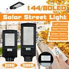 800W 1000W LED Solar Street Light PIR Motion Sensor Wall Lamp Timing Remote
