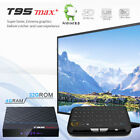T95 MAX S905-X3 8K HDR 4GB DDR3 Android 9.0 Dual WiFi Bluetooth Smart TV Box