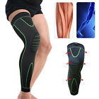 Long Knee Brace Support Compression Sleeve Patella Stabilizer Sports Gym Joint