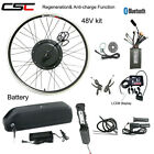 Ebike Conversion Hub Wheel Kit 48V 1500W Electric Bicycle Charger With Battery
