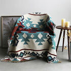 Bohemian Tribal Ethnic Geometric Aztec Navajo Blanket Throw Rugs Sofa Couch US image