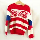 Coca Cola vintage child's sweater red white blue $24.0  on eBay