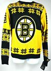 Boston Bruins Hockey NHL Ugly Christmas/All Seasons Sweater Big Logo Crew Neck $37.77 USD on eBay