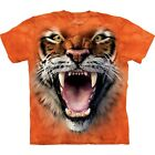 The Mountain Unisex Child Roaring Tiger Face Animal T Shirt