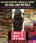 CLEARANCE Clip in Hair Half Head 1 Piece feels real Honey Golden Chestnut red.