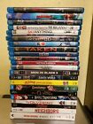 10 used/Like New Blu-ray DVD. Available individually you pick Titles