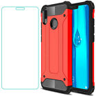 For Huawei P30 P20 Lite/Mate 20 X Pro/Honor 9 8 X Shockproof Case+Tempered Glass