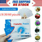 6-60Pcs Diabetic Patch Natural Herbs Reduce High Blood Sugar Plaster Health Care $14.99 USD on eBay