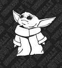 Star Wars The Mandalorian Baby Yoda car truck vinyl decal sticker boba The Child $4.99 USD on eBay
