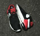 Mens Y-3 QR Boost Black/Red Trainers (TSF4) RRP £299.99