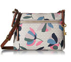 New Fossil Women's Fiona Leather Small Crossbody Bag Variety Colors
