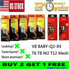 TFV82 Baby2 Beast2 Tank2 replacement Coils2 V8Baby Coils2 Q2/M2/X4/T8/T12 mesh2