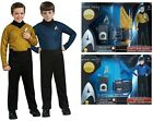 Boys Kids Childrens Spock Kirk Star Trek Fancy Dress Costume and Accessory Set on eBay