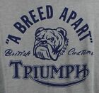 ⭐NWT⭐Lucky Brand Men's Triumph Breed Apart Motorcycle Drag Strip Gray T-Shirt $20.00 USD on eBay