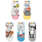 MOOMIN Women Character Ankle Socks Cartoon Casual Lot Crew Fashion Cotton Sock