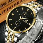 New Orlando Men's Wrist Watches, Stainless Steel Band, Luxury Quartz Casual Fash image