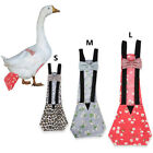 Elastic Back Belt Bow Nappy Poultry Cloth Diaper for Goose Chickens Duck Hen No