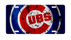 Chicago CUBS Baseball Fan License Plate Distressed MLB Car Truck on Ebay