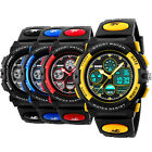 SKMEI Men's Date Fashion Sport Quartz Digital 50M Waterproof Unisex Watches US image