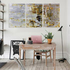 3Pcs Vintage Abstract Oil Painting Canvas Print Picture Home Wall Decor  B