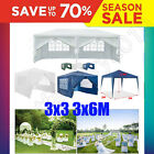 Outdoor Wedding Garden Party Waterproof Gazebo Tent Marquee Awning Canopy 3x3 4