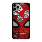 SPIDERMAN MASK For iPhone 6 6S 7 8 Plus X XS XR 11 Pro Max Phone Case Cover