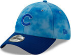 Chicago Cubs 2019 Fathers Day Flex Fit Hat Blue on Ebay