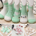 5 Pairs Boys Girls Baby Summer Cartoon Cotton Mesh Middle Tube Socks Novelty