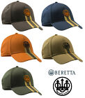 Beretta Corporate Striped Cap BC023 Brown or Orange Shooting Logo Baseball Hat