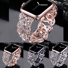 38/42/40/44mm Bling Diamond Band for Apple Watch Series 5 4 3 2 1 iWatch Strap image