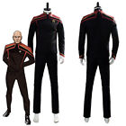 Star Trek Jean-Luc Picard Unfirt Cosplay Outfit Costume Uniform Full Set on eBay