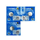 Renata Digital Thermometer / Watch Battery Size 392 SR41 LR41 AG3 Silver OxideWatch Batteries - 98625